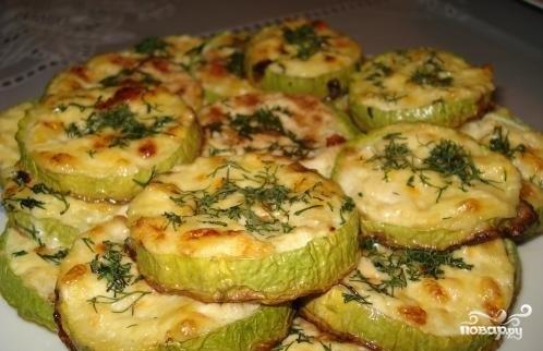 Кабачки в духовке с сыром в духовке рецепт с пошагово в