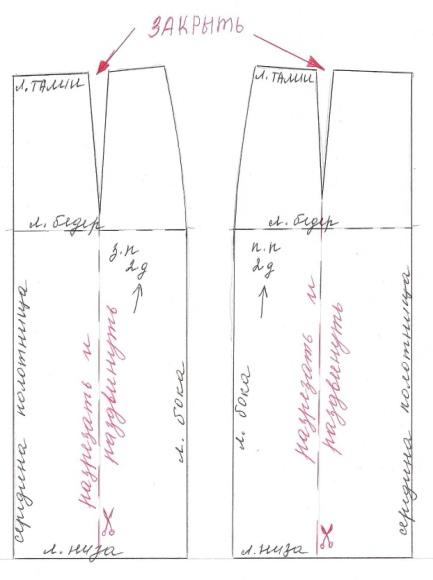 Сшить вручную юбку карандаш 52