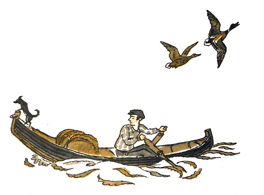 Картинка к рассказу про мальку в воде
