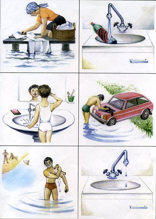 Картинки о воде для дошкольников