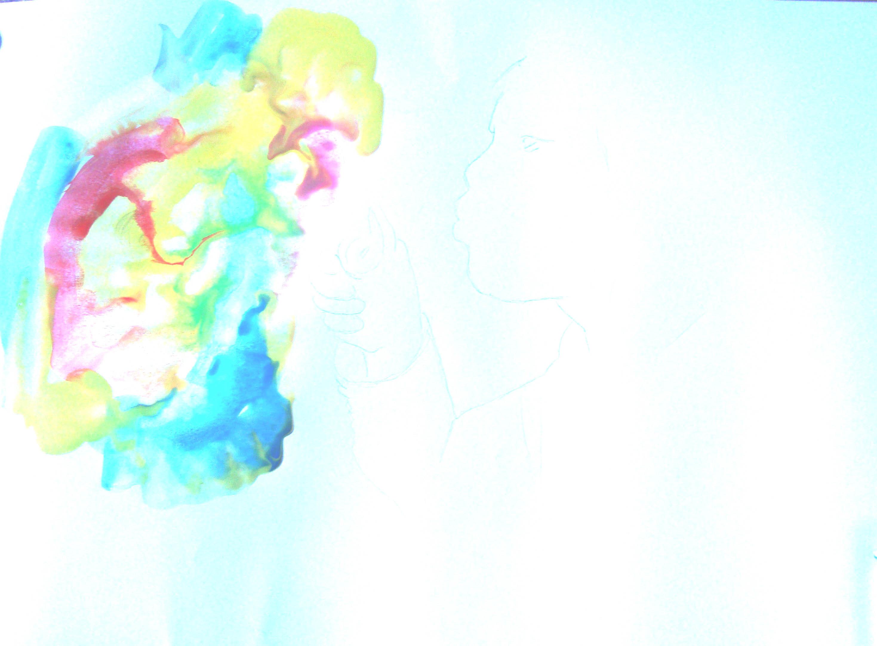 логотип разноцветная бабочка: