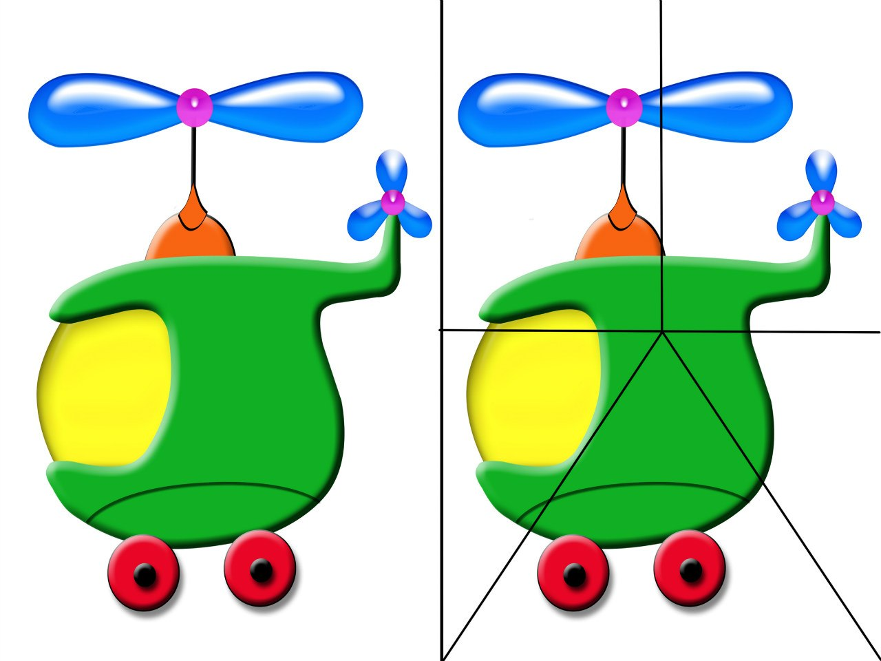 конспект занятия игрушки вертолет