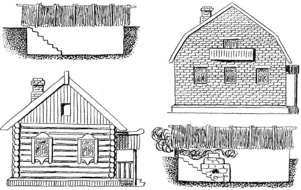 Дома из мешков с землей - Отшельники, жизнь в глуши