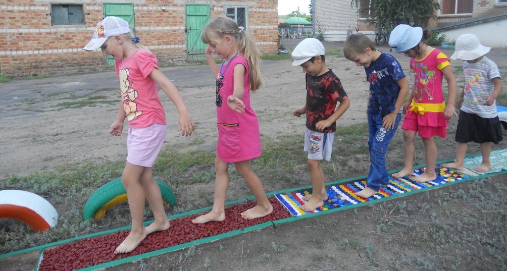 Тропа здоровья для детского сада своими руками фото 364