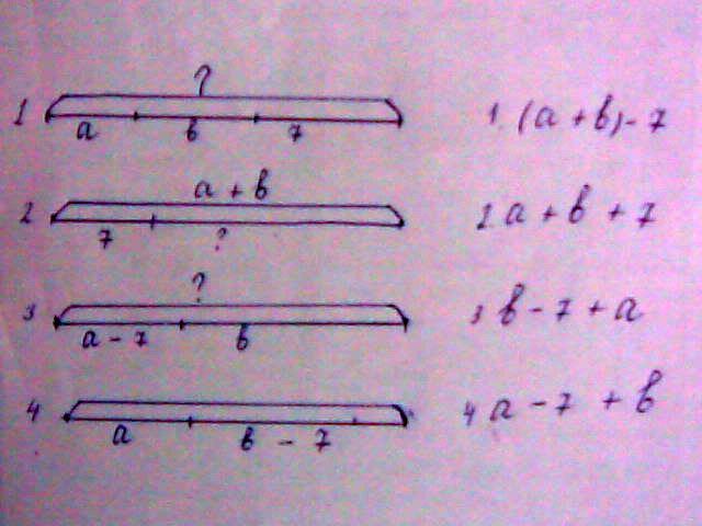 У — Соедините номер схемы с