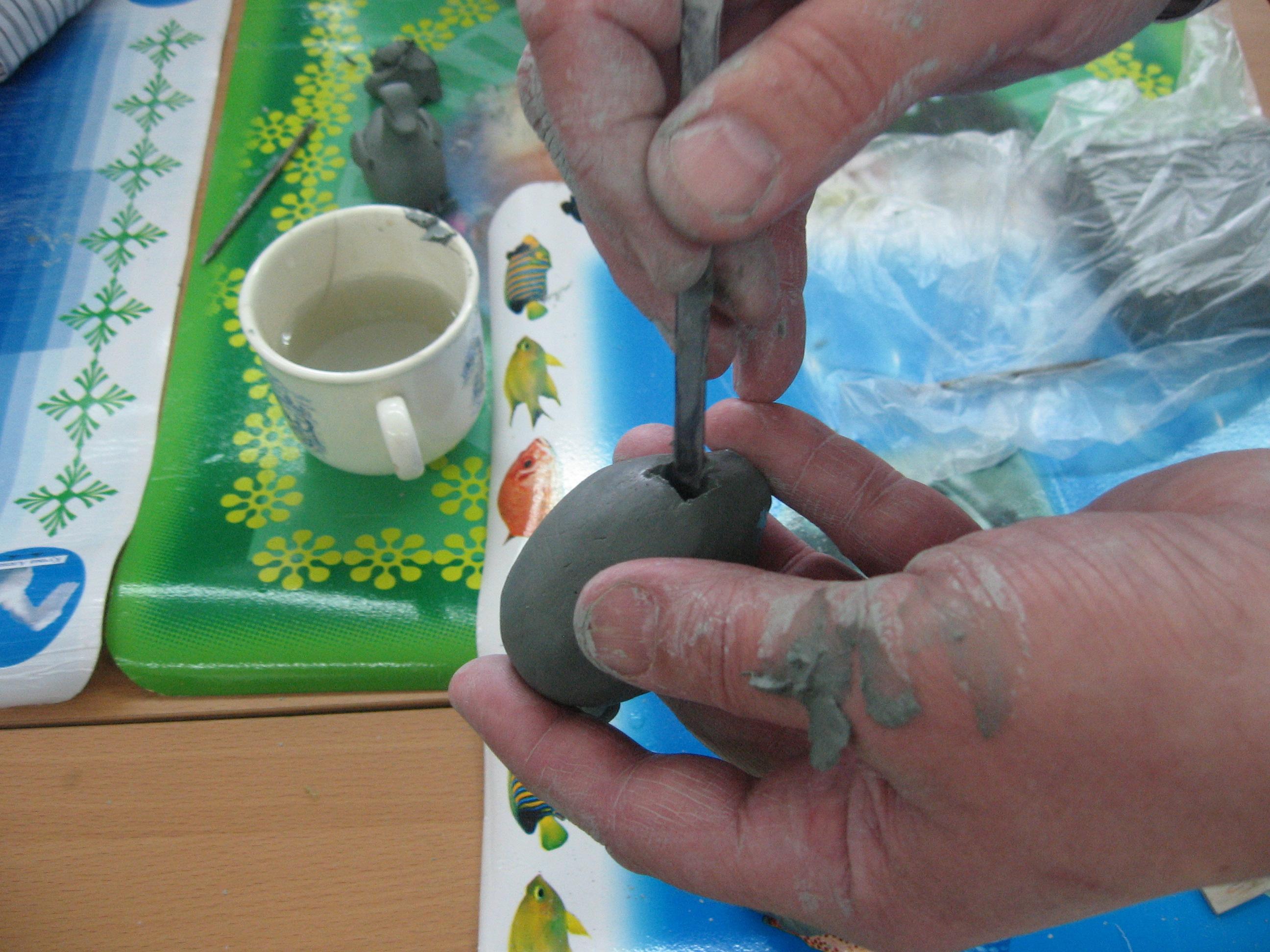 Как сделать глину суше